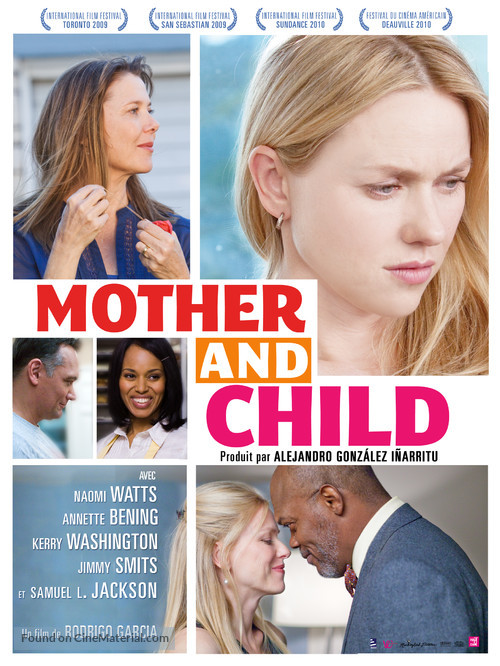 Mother and Child - French Movie Poster