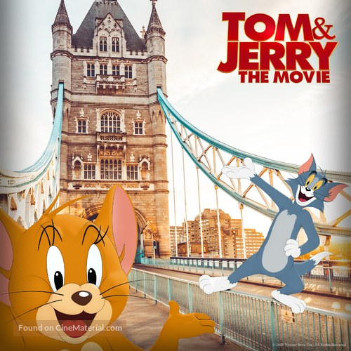 Tom and Jerry - British poster