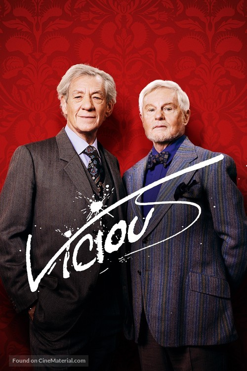 """""""Vicious"""" - British Video on demand movie cover"""