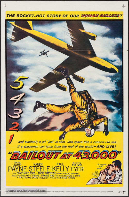 Bailout at 43,000 - Movie Poster