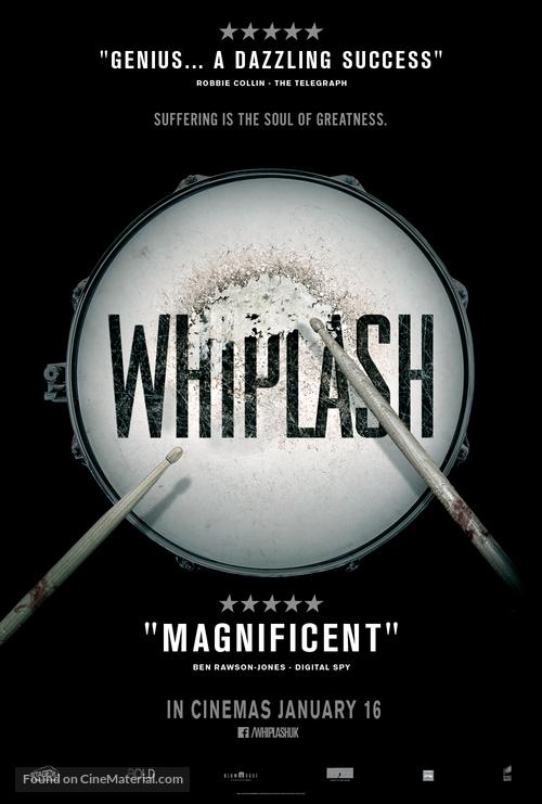 Whiplash - British Movie Poster