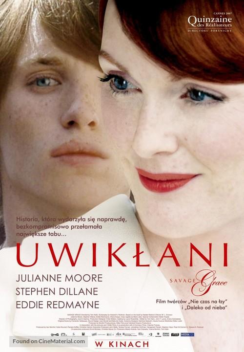 Savage Grace - Polish Movie Poster