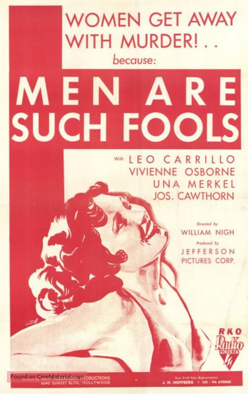 Men Are Such Fools - Movie Poster