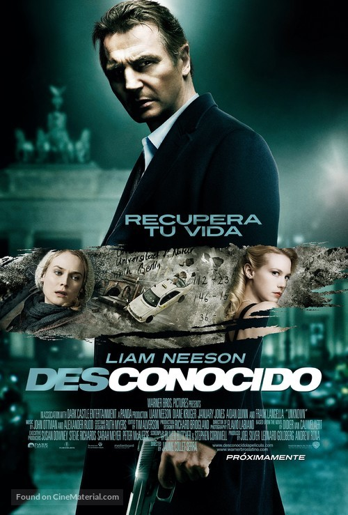 Unknown - Colombian Movie Poster