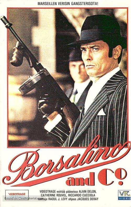 Borsalino and Co. - Finnish VHS movie cover