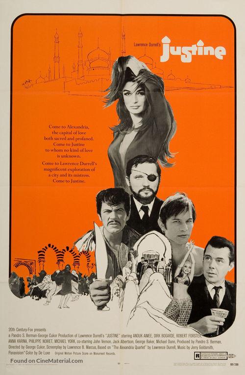 Justine - Movie Poster