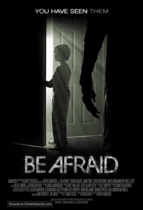 Be Afraid - Movie Poster