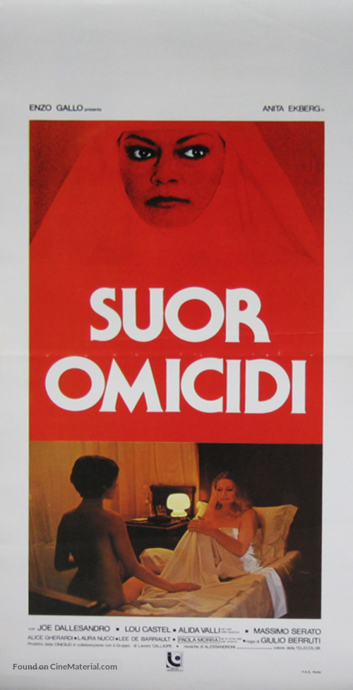 Suor Omicidi - Italian Movie Poster