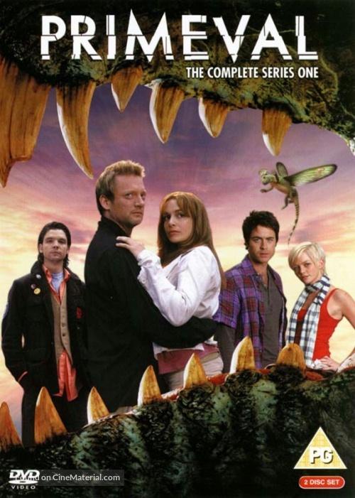 """""""Primeval"""" - British DVD movie cover"""