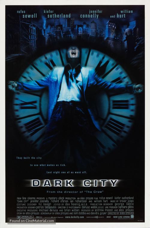 Dark City - Movie Poster