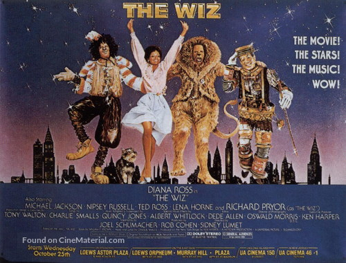The Wiz - Movie Poster