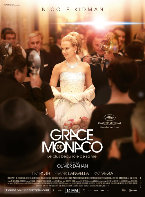 Grace of Monaco - French Movie Poster