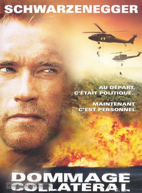 Collateral Damage - French Movie Poster