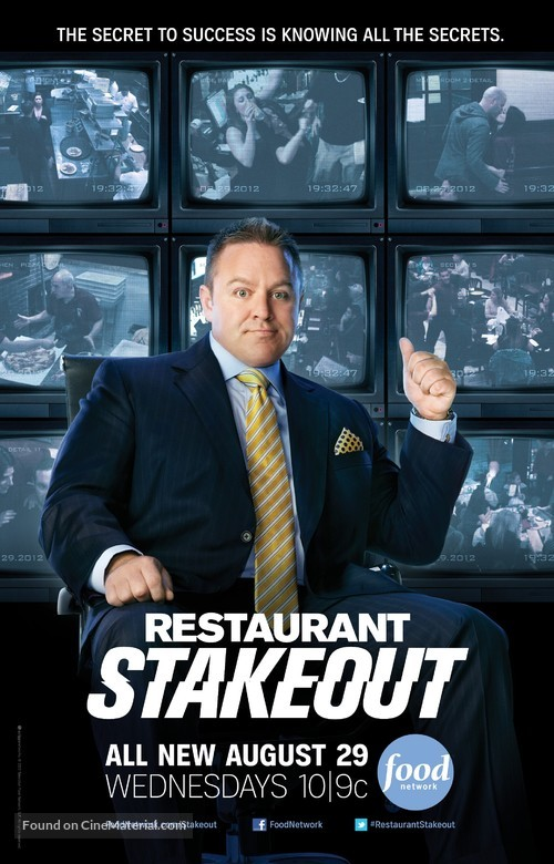 """""""Restaurant Stakeout"""" - Movie Poster"""