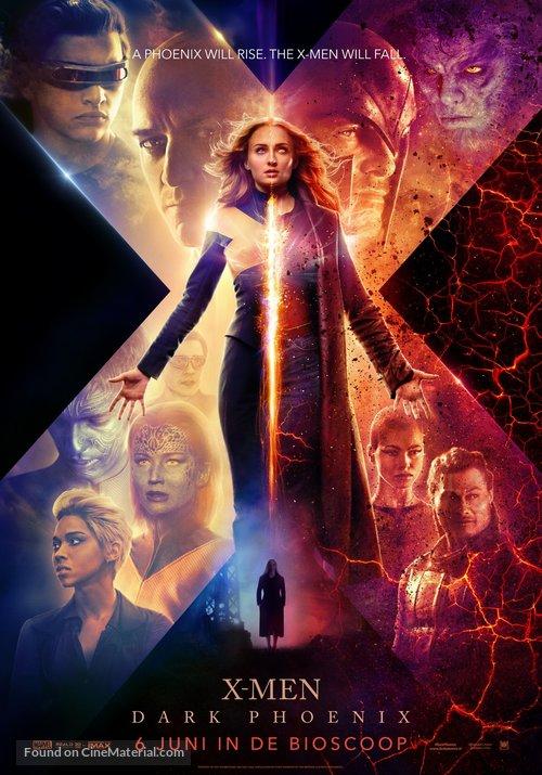Dark Phoenix - Dutch Movie Poster