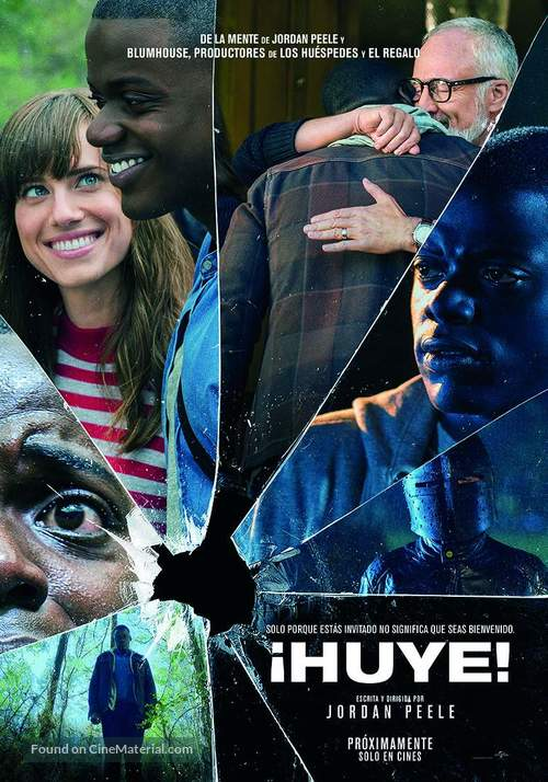 Get Out - Argentinian Movie Poster