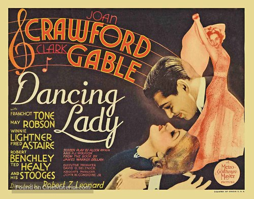 Dancing Lady - Movie Poster