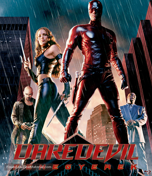 Daredevil - Hungarian Movie Cover