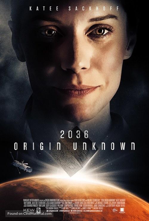 2036 Origin Unknown - British Movie Poster