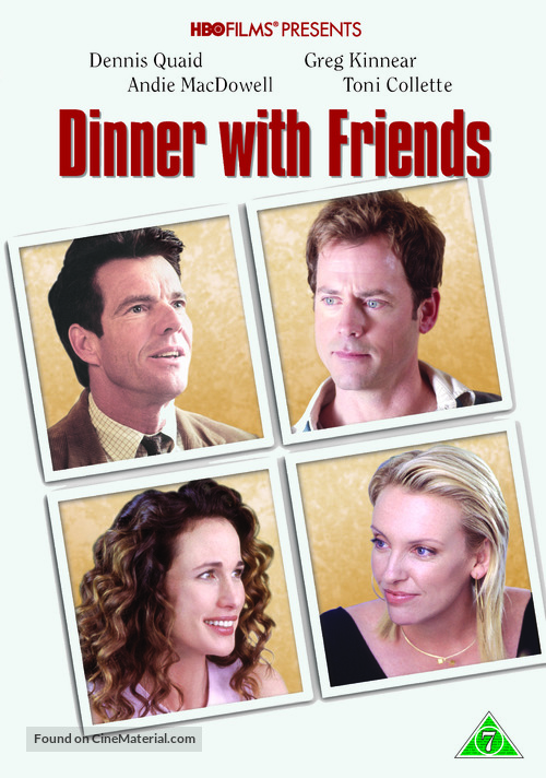 Dinner with Friends - Danish Movie Cover