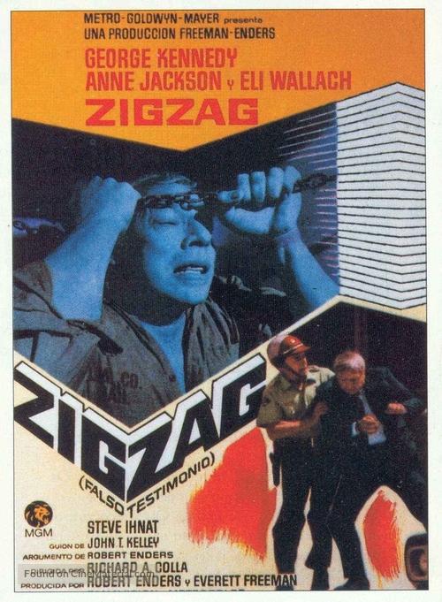 Zigzag - Spanish Movie Poster
