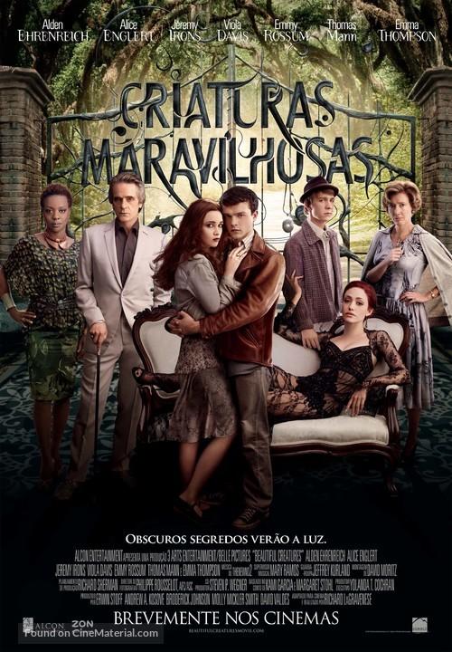 Beautiful Creatures - Portuguese Movie Poster