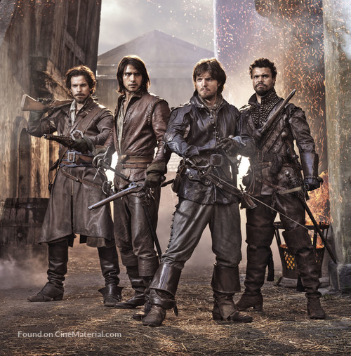 """The Musketeers"" - Key art"