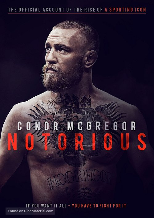 Conor McGregor: Notorious British movie cover