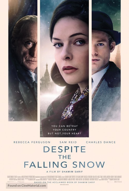 Despite the Falling Snow - Canadian Movie Poster