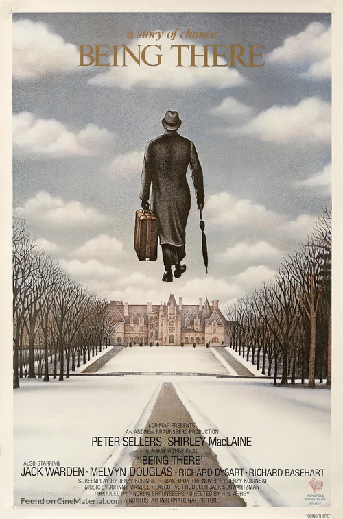 Being There - Swiss Movie Poster