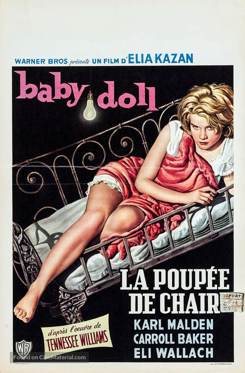 Baby Doll - Belgian Movie Poster