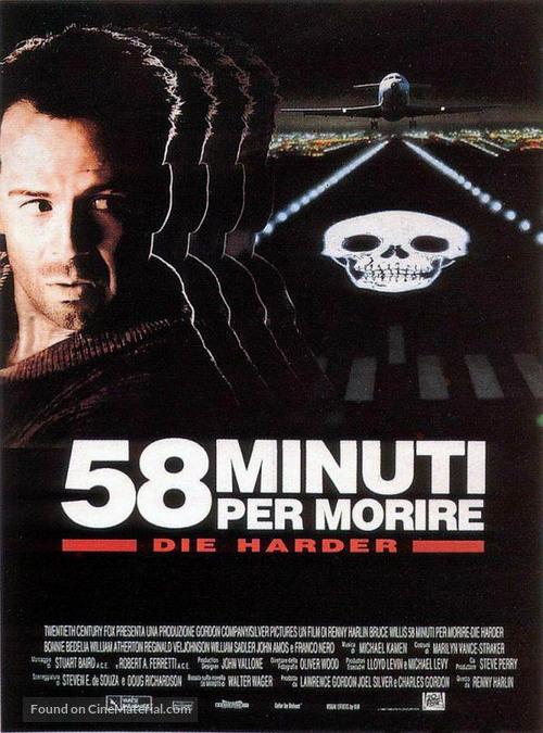 Die Hard 2 - Italian Movie Poster