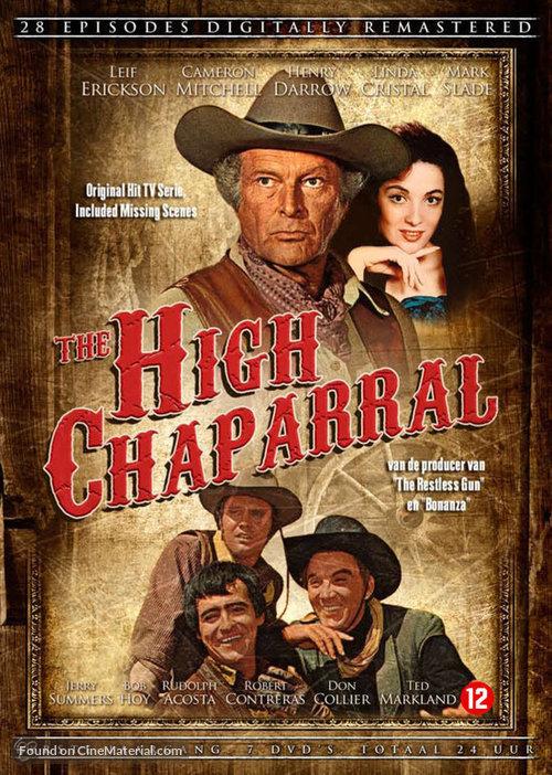 """The High Chaparral"" - Dutch DVD movie cover"