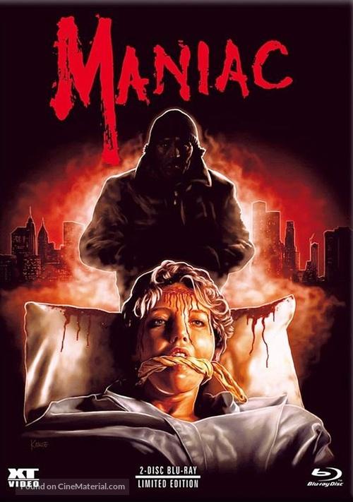 Maniac - Austrian Blu-Ray movie cover