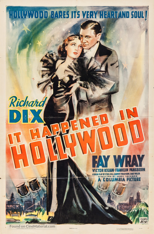 It Happened in Hollywood - Movie Poster