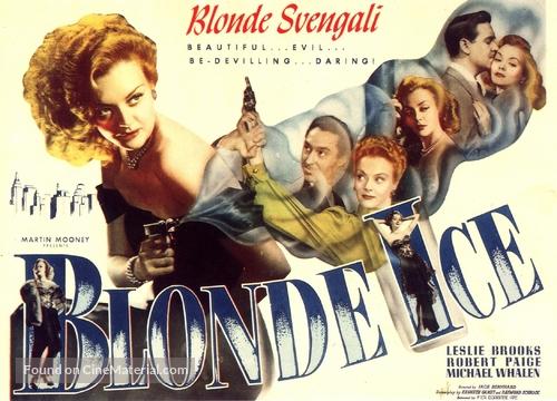 Blonde Ice - Movie Poster
