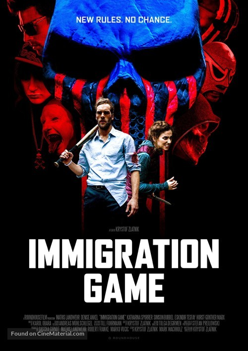 Immigration Game - German Movie Poster