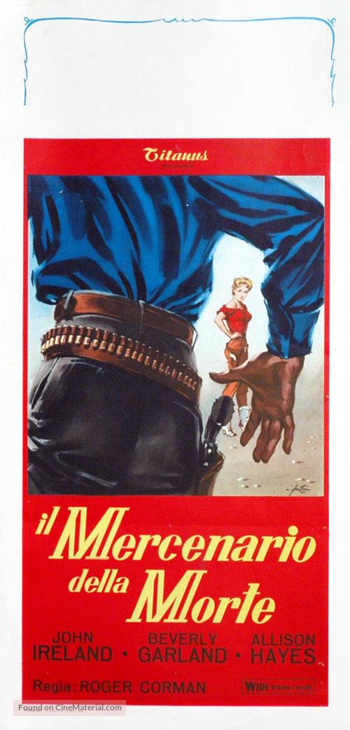 Gunslinger - Italian Movie Poster