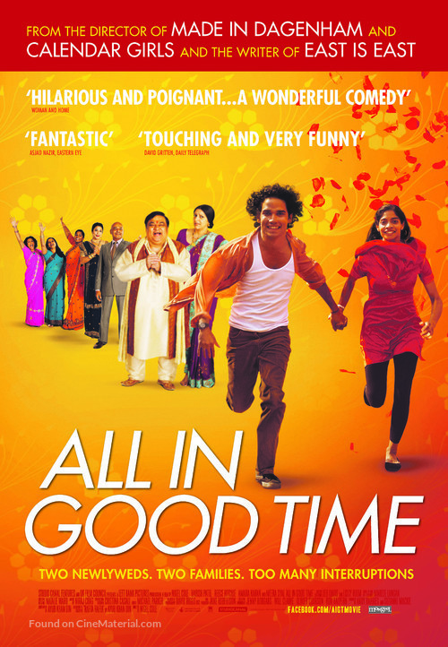 All in Good Time - Canadian Movie Poster