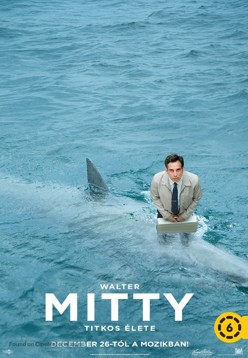 The Secret Life of Walter Mitty - Hungarian Movie Poster