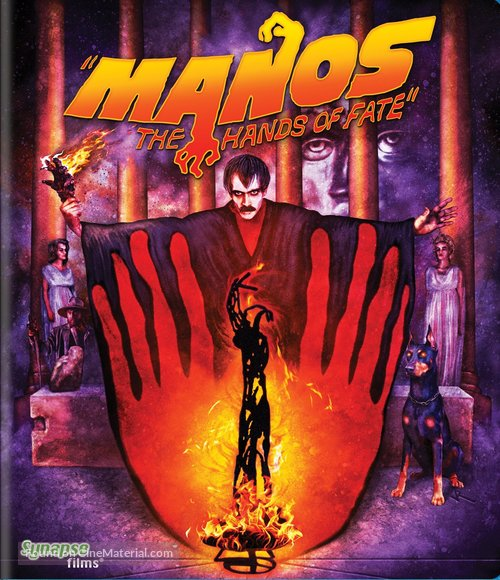 Manos: The Hands of Fate - Blu-Ray movie cover