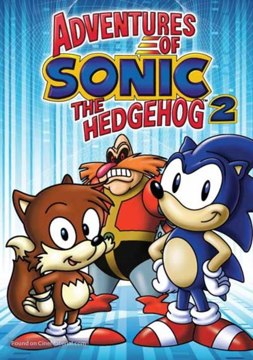 """Adventures of Sonic the Hedgehog"" - DVD movie cover"