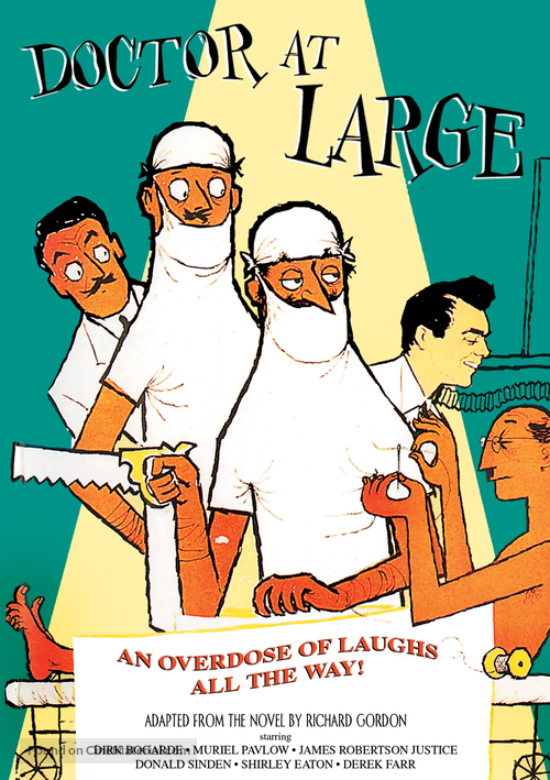 Doctor at Large - DVD movie cover