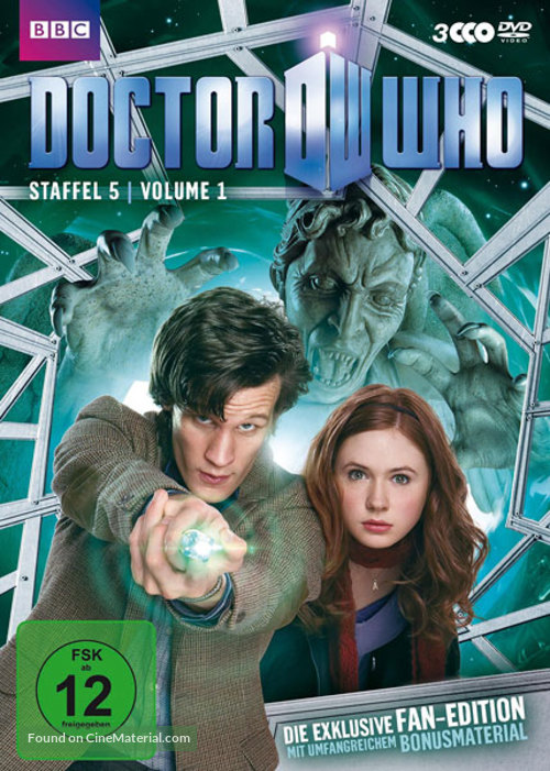 """""""Doctor Who"""" - German DVD movie cover"""