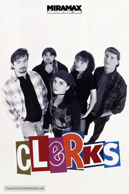 Clerks. - DVD movie cover