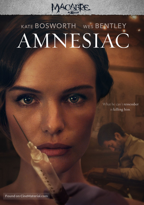 Amnesiac - DVD movie cover