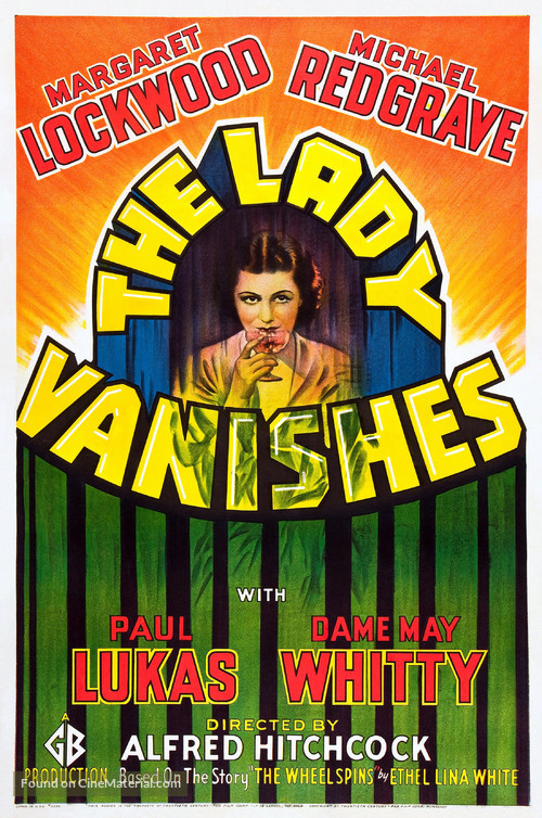 The Lady Vanishes - Theatrical movie poster