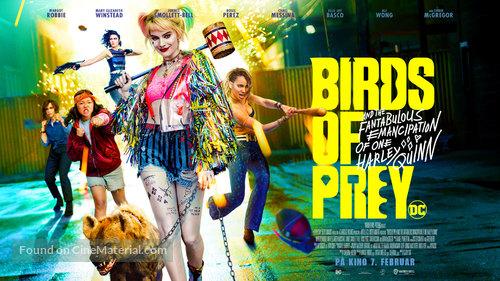 Harley Quinn: Birds of Prey - Danish Movie Poster