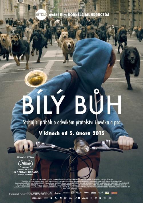 Fehér isten - Czech Movie Poster
