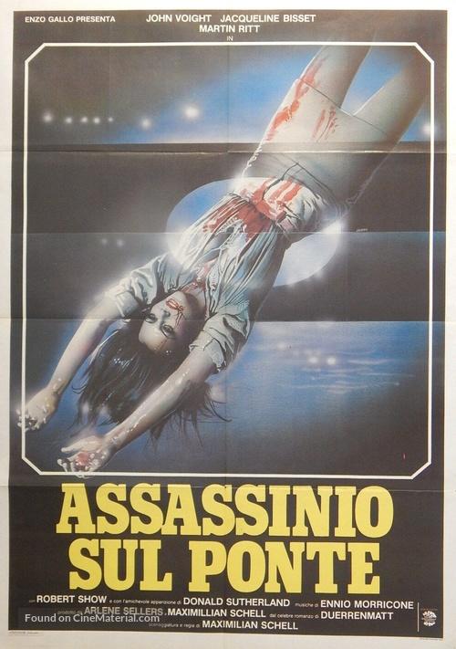 Der Richter und sein Henker - Italian Movie Poster